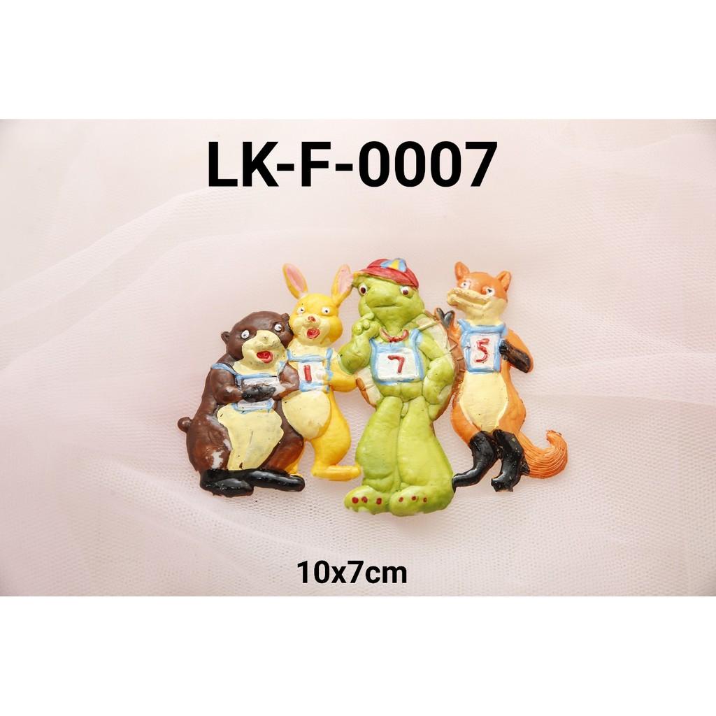 LK F 0007 Topper Mainan KARAKTER Lokal Franklin 1D