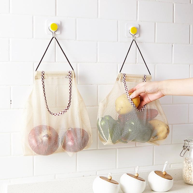 Tas belanja pengganti kantong plastik - Tas jaring