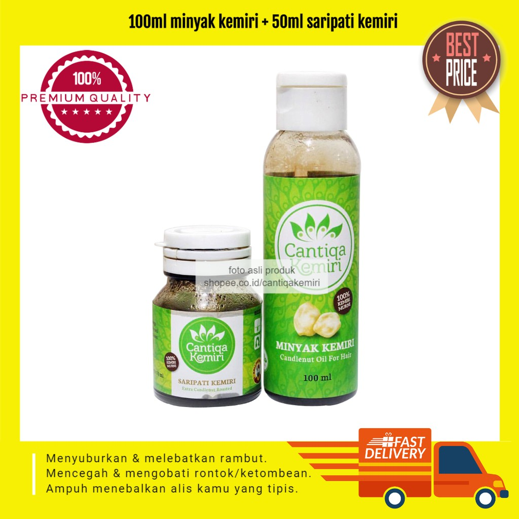 Minyak Kemiri Asli Abah Shopee Indonesia Bmks Bpom Khusus Flash  1 Pcs