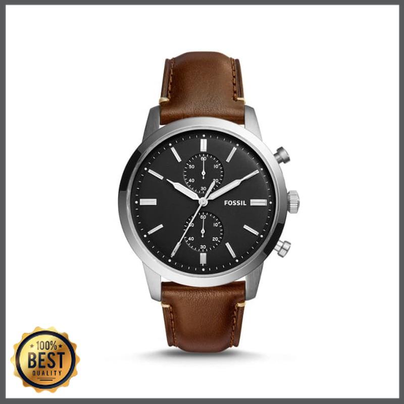 Promo Fossil Jam Tangan Pria Townsman Chronograph Brown Watch Fs5280 Diskon Shopee Indonesia