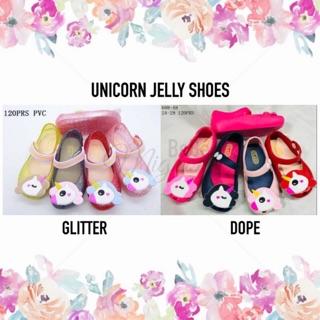 88d476be11fb Unicorn Jelly Shoes (GIRL) - Sepatu Karet Bayi Anak Perempuan Lentur Anti  Slip