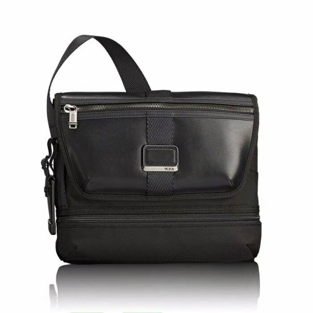 TUMI Alpha Bravo Travis Black Crossbody