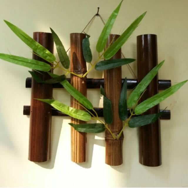 Hiasan Dinding Dari Bambu Yang Mudah Dibuat