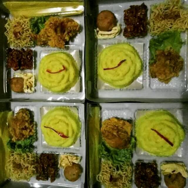 Nasi Kuning Paket 15rb Utk Acara Kantor Ultah Syukuran Dll Halal Dan Murah Shopee Indonesia