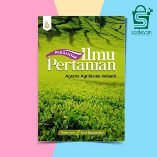 Pengantar Ilmu Pertanian Soetriono Intrans Publishing Sb