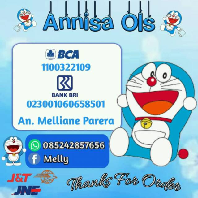 Logo Olshop Doraemon Bisa Pake Foto Sendiri Shopee Indonesia