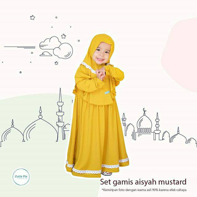 Gamis Aisyah Shopee Indonesia
