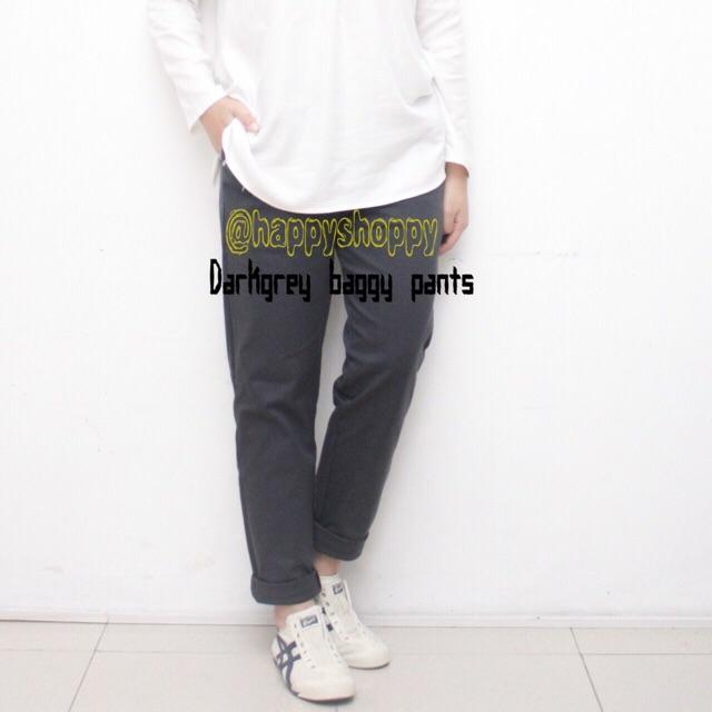 100+  Celana Baggy Pants Warna Dark Grey Terbaik Gratis