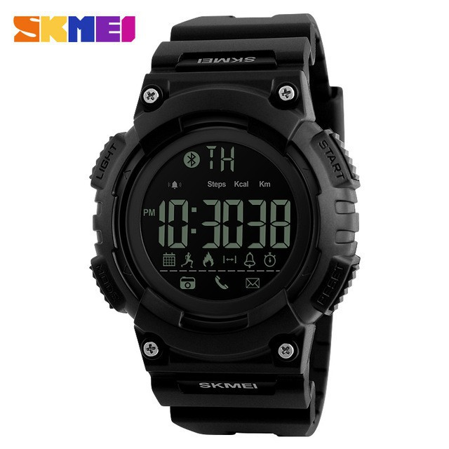 I ONE JAM TANGAN PRIA STRAP RUBBER SMARTWATCH GT08 HITAM SILVER4. 【Skmei Official Store】 SKMEI 1326 Smartwatch Bluetooth untuk Pria   Shopee Indonesia