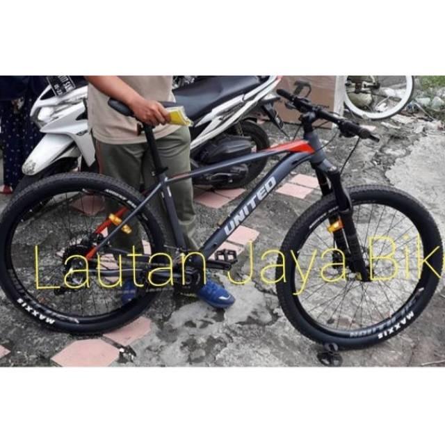 Sepeda 27.5 MTB UNITED CLOVIS 5 NEW Shopee Indonesia