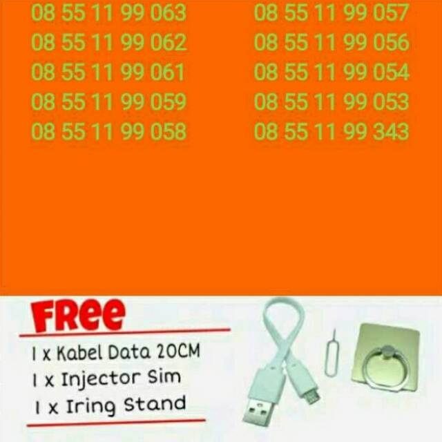 OBRAL SERI 0857 0857 Kartu Perdana Nomor Cantik Indosat 4G | Shopee Indonesia