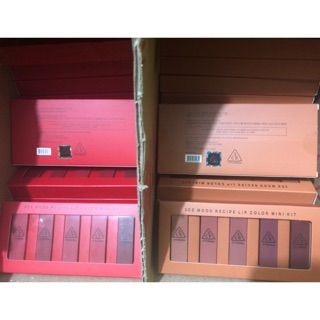 3CE Mood Recipe Lip COlor mini Kit isi 5 lipstick 3ce