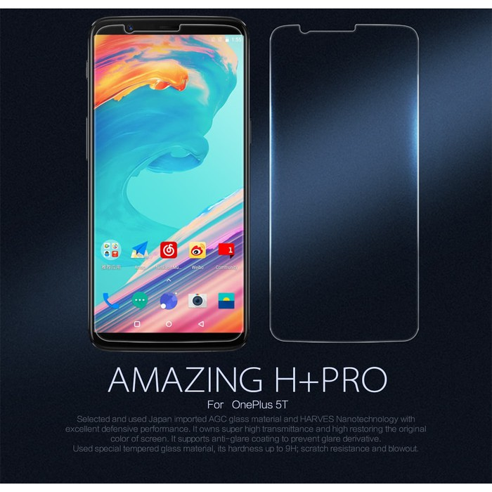 Samsung Galaxy A8 2018 NILLKIN Amazing H+PRO Tempered Glass | Shopee Indonesia