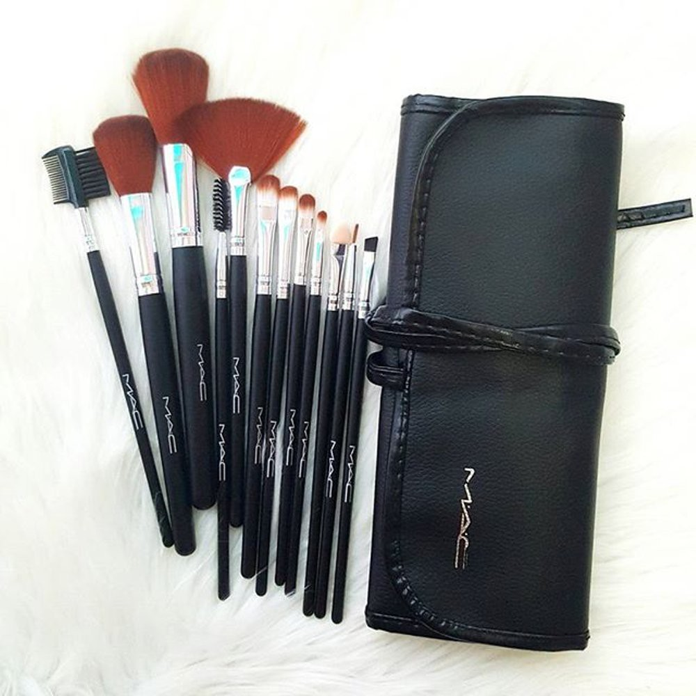 Mac Kuas Make Up Set Brush Isi 5 Shopee Indonesia 12