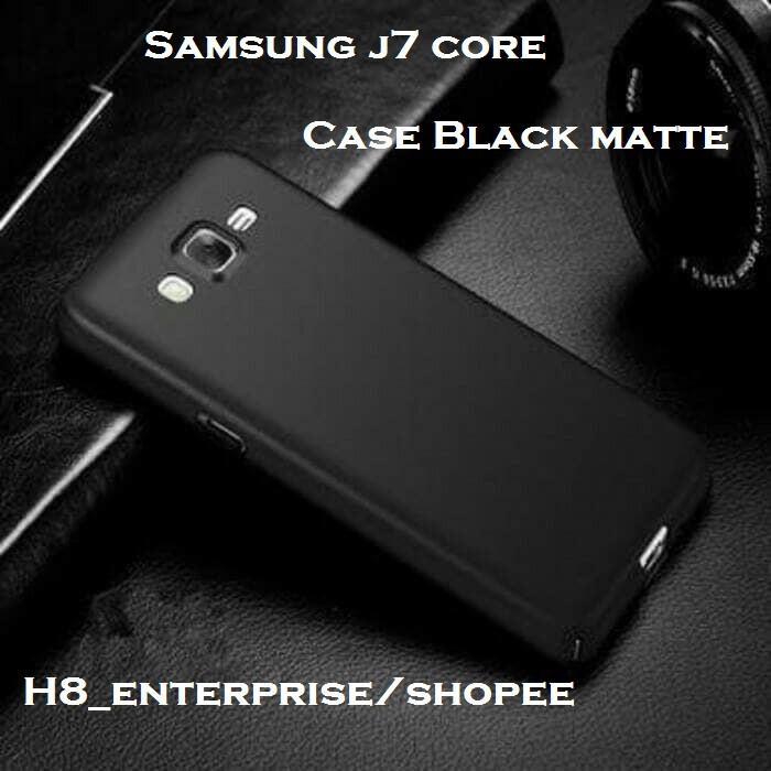 newest collection 0f6ba deaaf SoftCase Slim Black Matte Samsung J7 Core 2017 / J701F