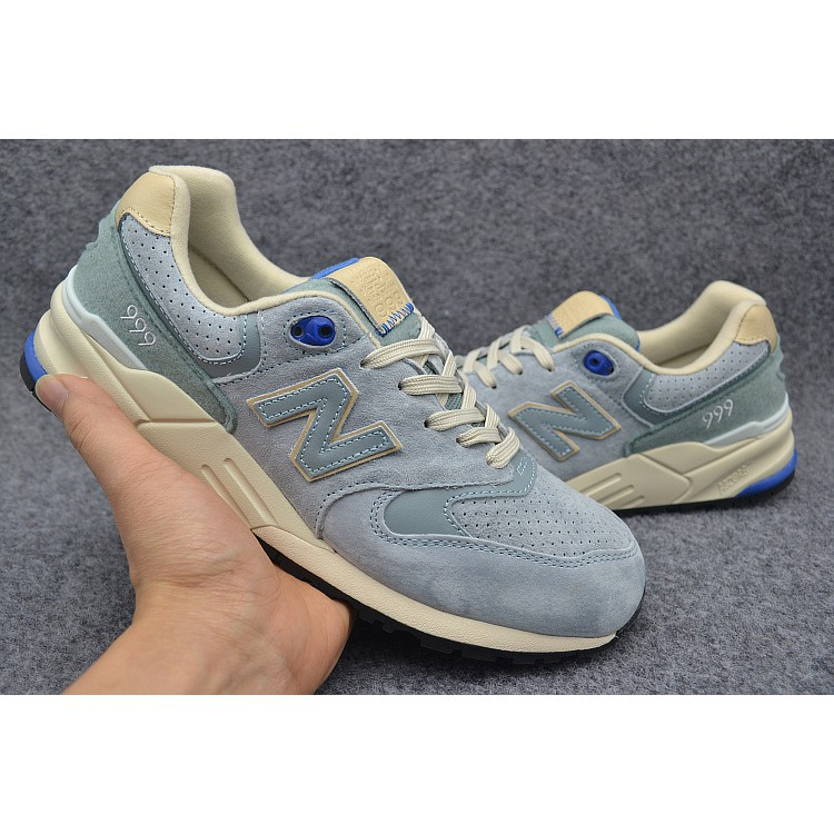Sepatu Lari Desain New Balance 999 NB999 Warna Abu-Abu Biru Ukuran 36-44  45f43523ce