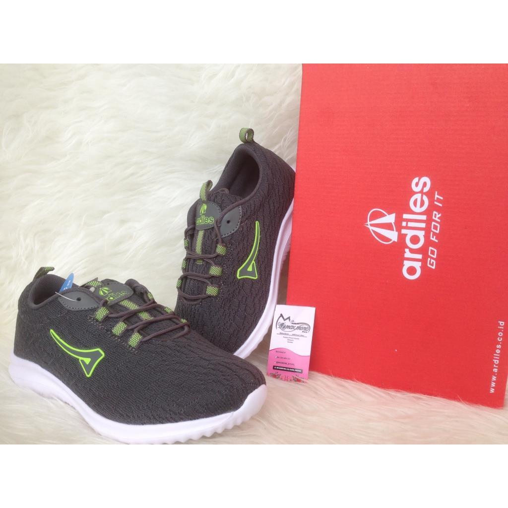 Sepatu Sneakers Wanita Ardiles Eldora Abu Jogging Women Chow Running Merah 39 Shopee Indonesia