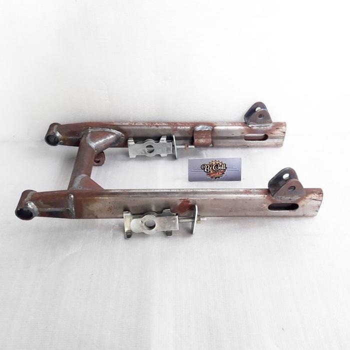 Dijual swing arm C70 grand prima model pipa oval set dengan setelan rantai Murah