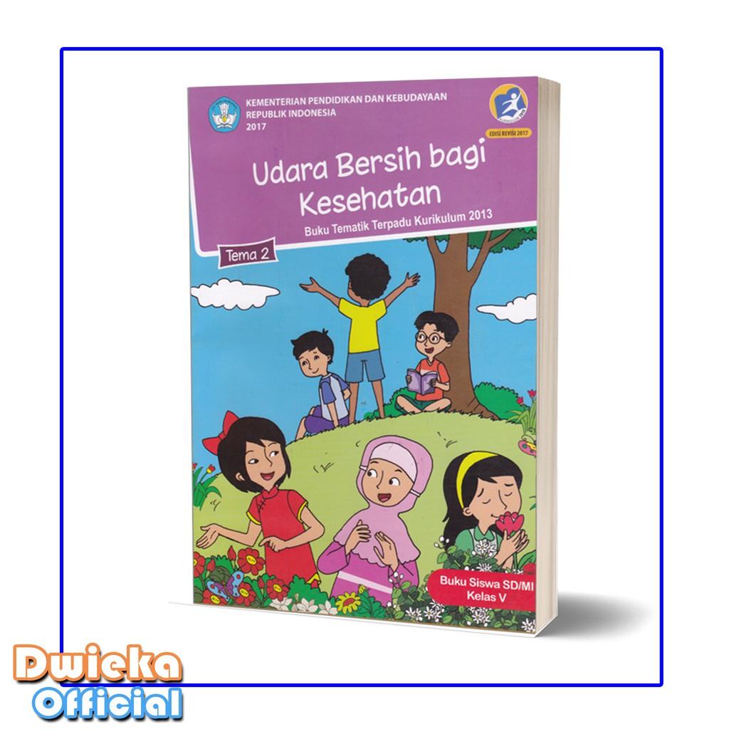 Paket Buku Tematik Kelas 5 Tema 1 2 3 Shopee Indonesia