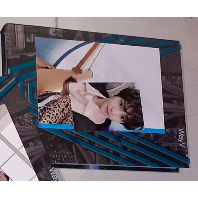 READY STOCK Album WayV Kick Back member set Stranger version photocard Yangyang postcard Lucas