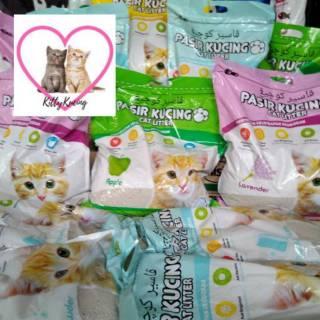 Pasir Kucing Wangi KAWAN CAT LITTER 5L