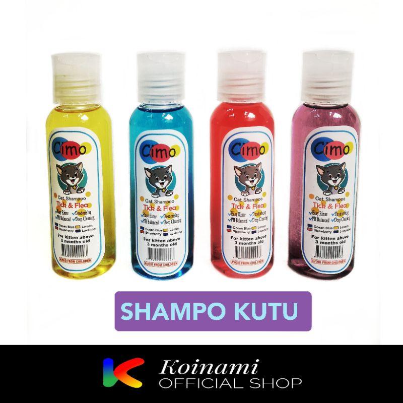 CIMO SHAMPO KUTU 100 ml / SHAMPO KUTU KUCING / GROOMING / BTM-1