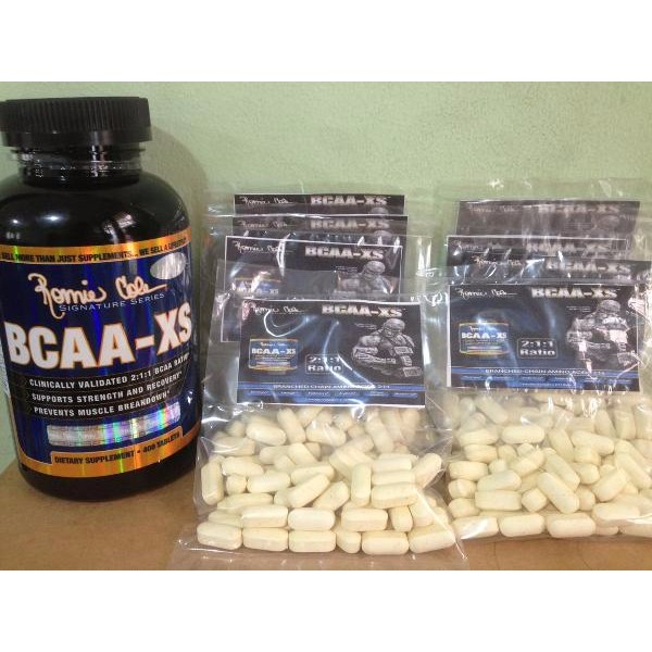 Ronnie Coleman BCAA XS 20 Tabs .
