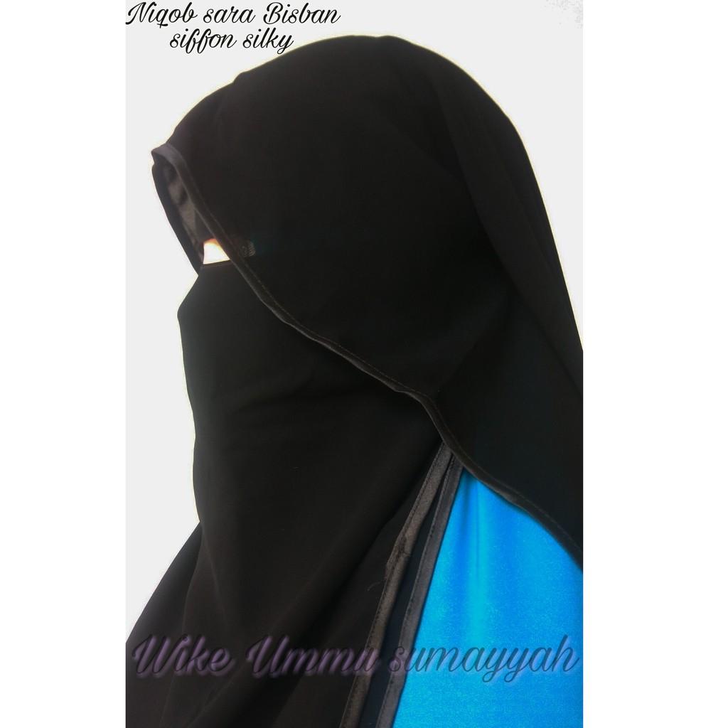 Cadar Niqob Yaman Kancing Hadramaut Siffon Silky Arab Shopee Indonesia