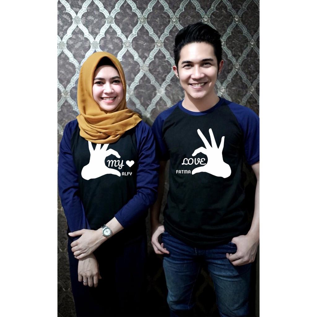 Promo Belanja Kaospasangan Online September 2018 Shopee Indonesia Setelan Baju Lengan Panjang Ampamp Celana Jeans Lr 118c