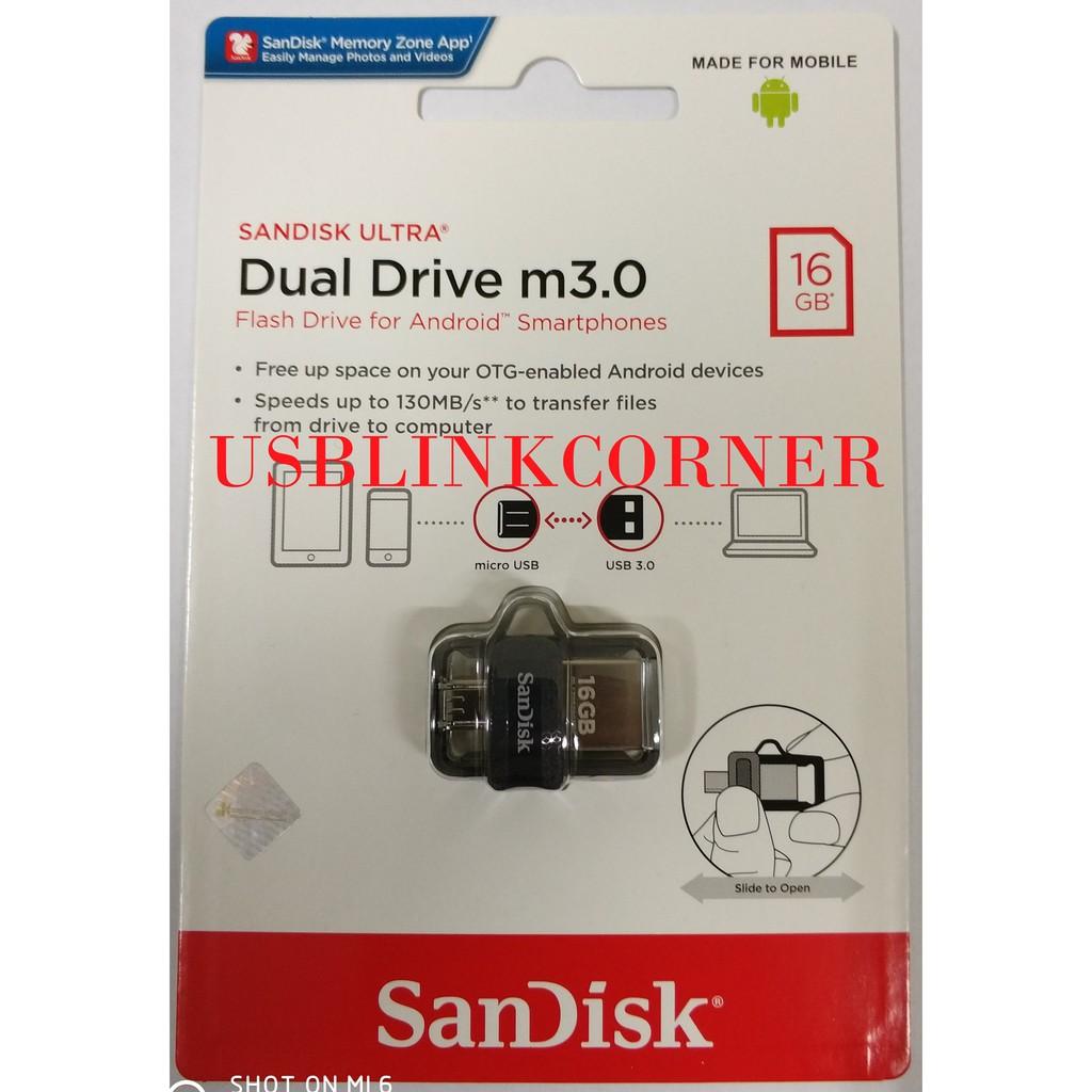 Up To 24 Discount Flash Disk Ibestz Sandisk Dual Drive Otg 32gb White Flashdisk Usb 30 Original Free Ongkir Ultra M30 16gb