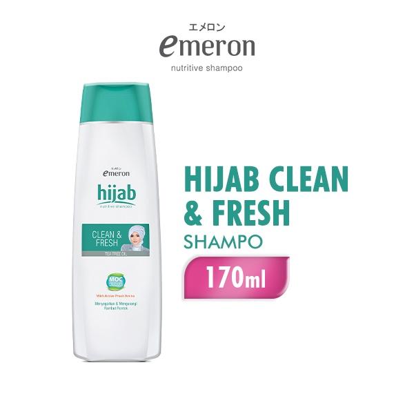 EMERON Shampoo HIJAB CLN&FRS Botol 170ML