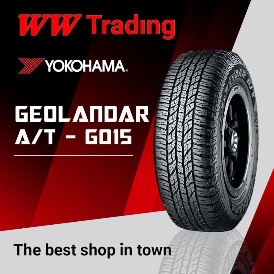Yokohama Geolandar A/T G015 235 60 R16 / 235 60 16
