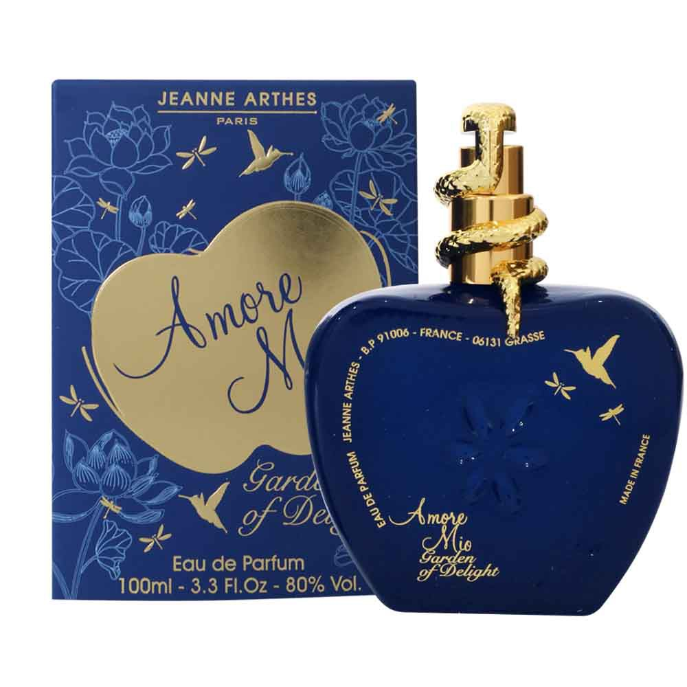 Jeanne Arthes Amore Mio Garden Of Delight Woman 100 ML | Shopee Indonesia