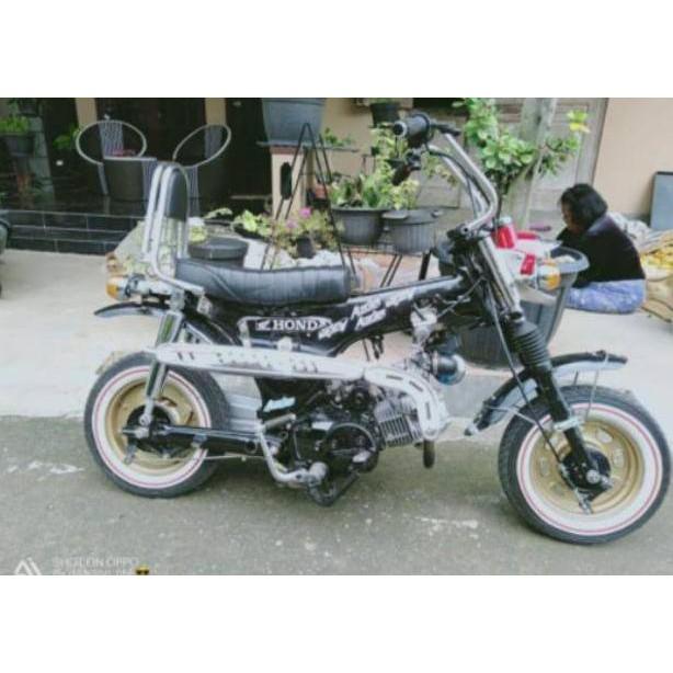 Kode Y8384 Sandaran Jok Behel Begel Rak Belakang Honda C70 Bebek 70 Bekjul Shopee Indonesia