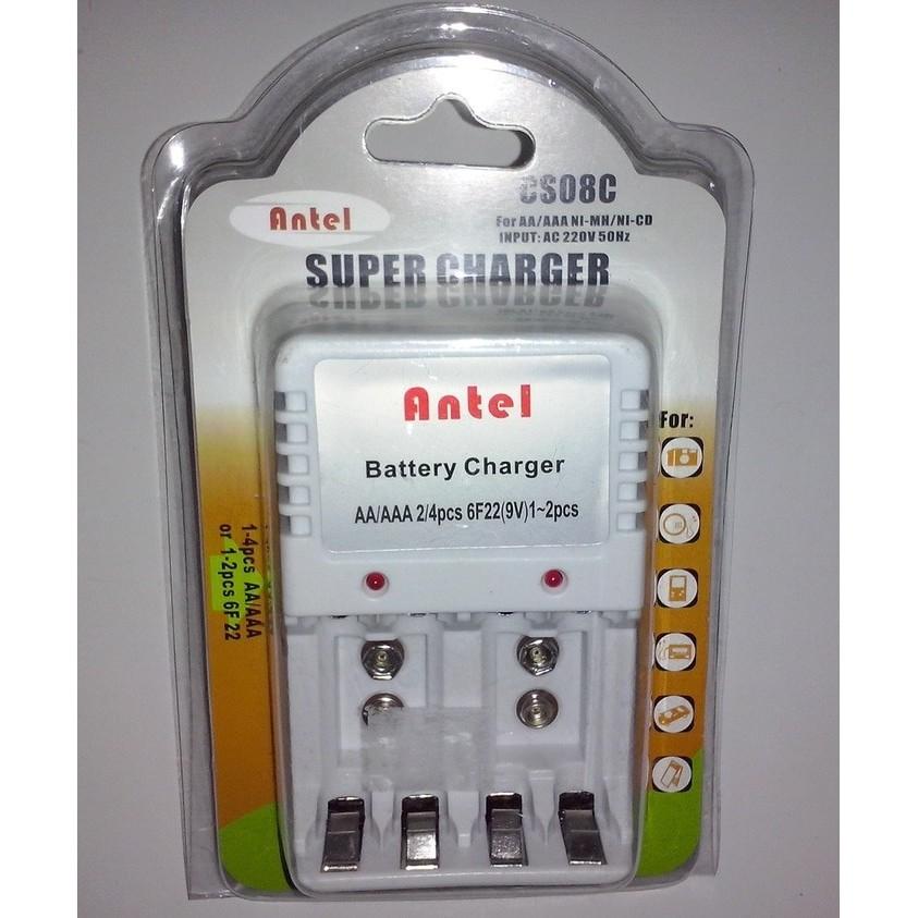 MURAH READY STOKCharger Baterai Kotak 9V / AA / AAA Vanson V88A | Shopee Indonesia