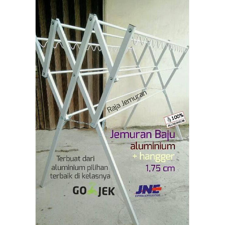 5rcm jemuran baju tempel gantung dinding /jemuran lipat apartemen type 3 9ruf | Shopee Indonesia