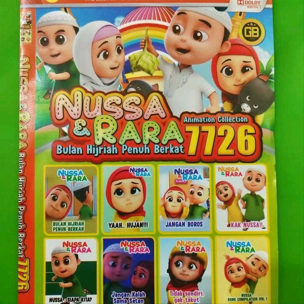 KASET DVD Film Anak Collection Terlaris NUSSA & RARA Bulan Hijriah ...