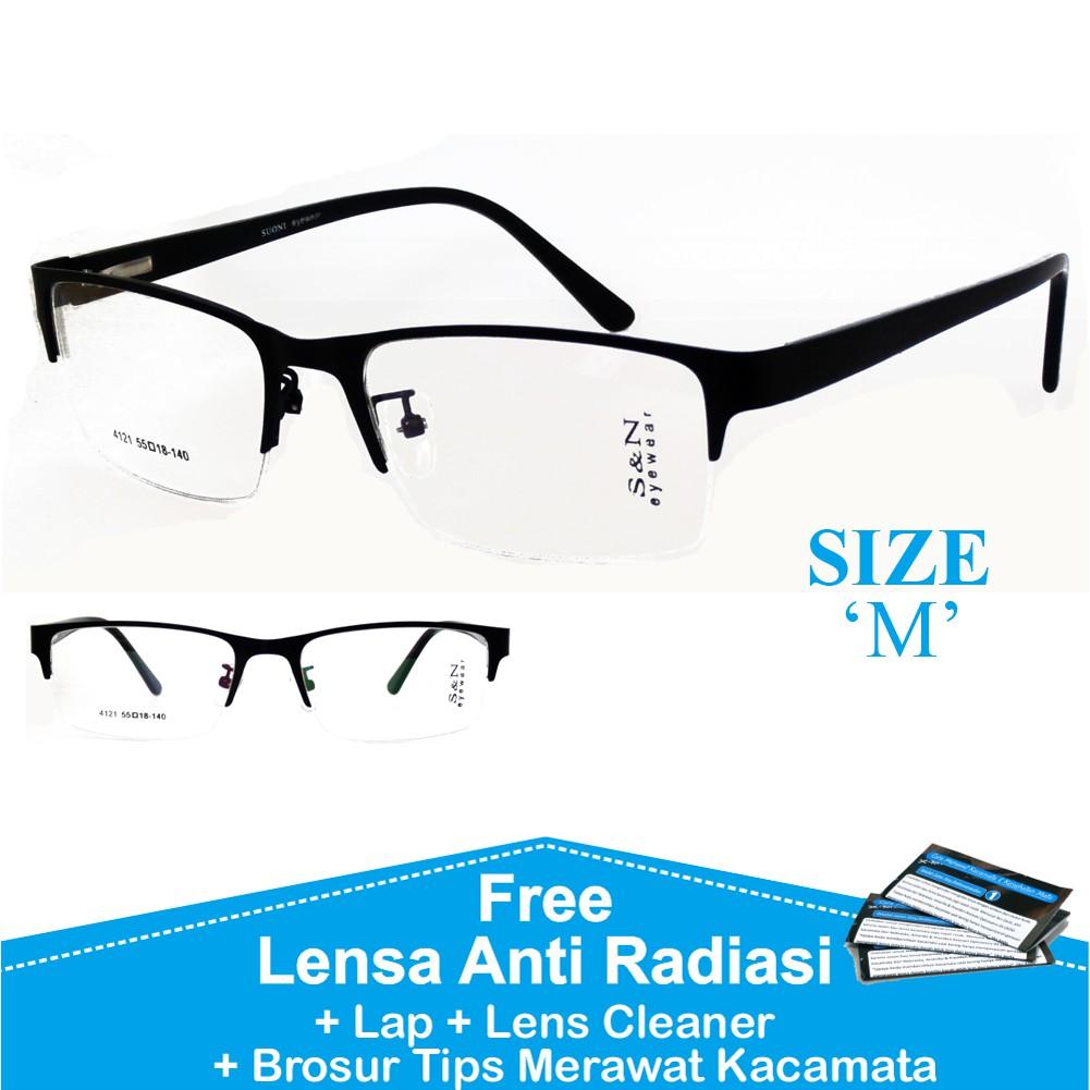 Frame kacamata otis aksesoris pria wanita + lensa minus plus silinder anti  radiasi  5108e7f3d5
