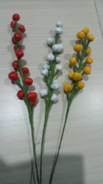 Kreasi Bunga Dari Kantong Plastik Kesek Warna Warni Shopee Indonesia