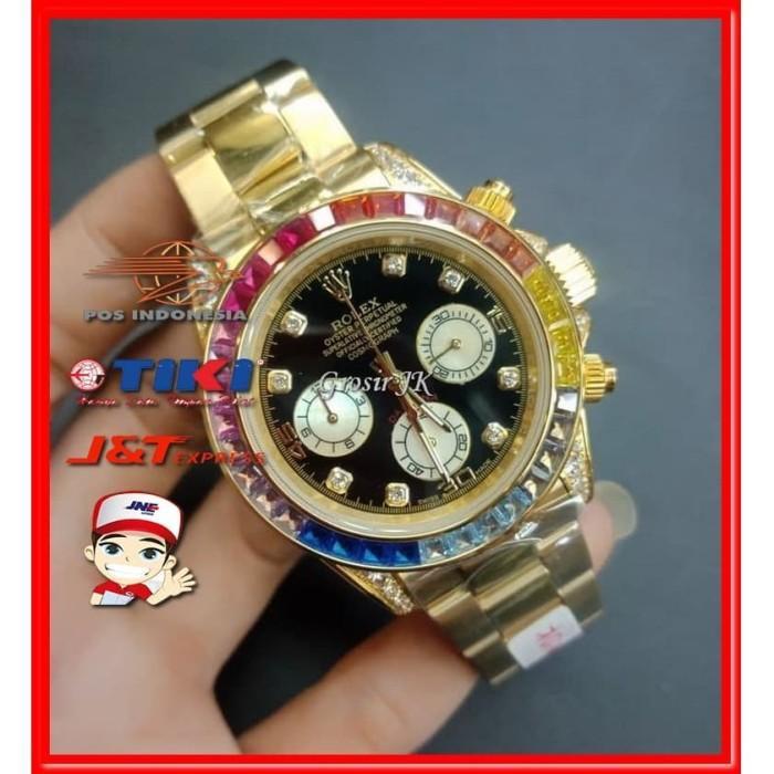 [Jam Tangan] Jam Rolex Pria Terbaru Kw Super Premium Grade Sporty | Jam Rolex Cowok