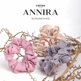 Cotton Inch - Annira Scrunchie Cepol Ikat Rambum Mini Medium thumbnail