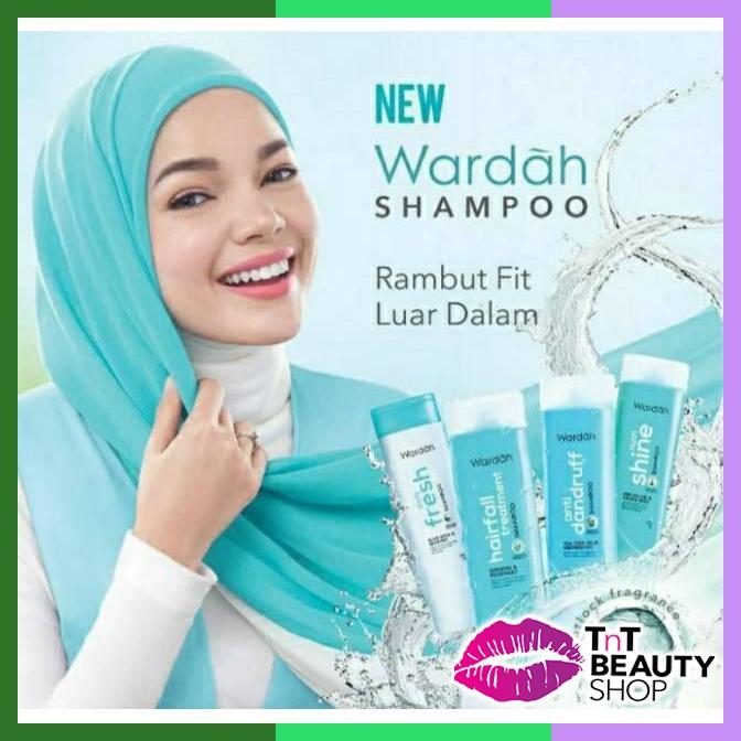 Wardah Shampoo Daily Fresh Aloe Vera & Seaweed   Dandruff   Nutri Shie   Hairfall-5