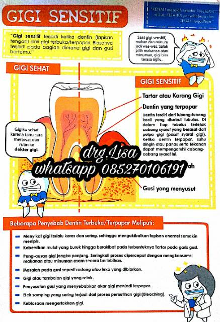 Poster Edukasi Kesehatan Gigi Shopee Indonesia