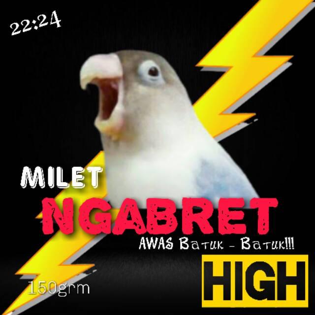 Milet Ngabret High Shopee Indonesia