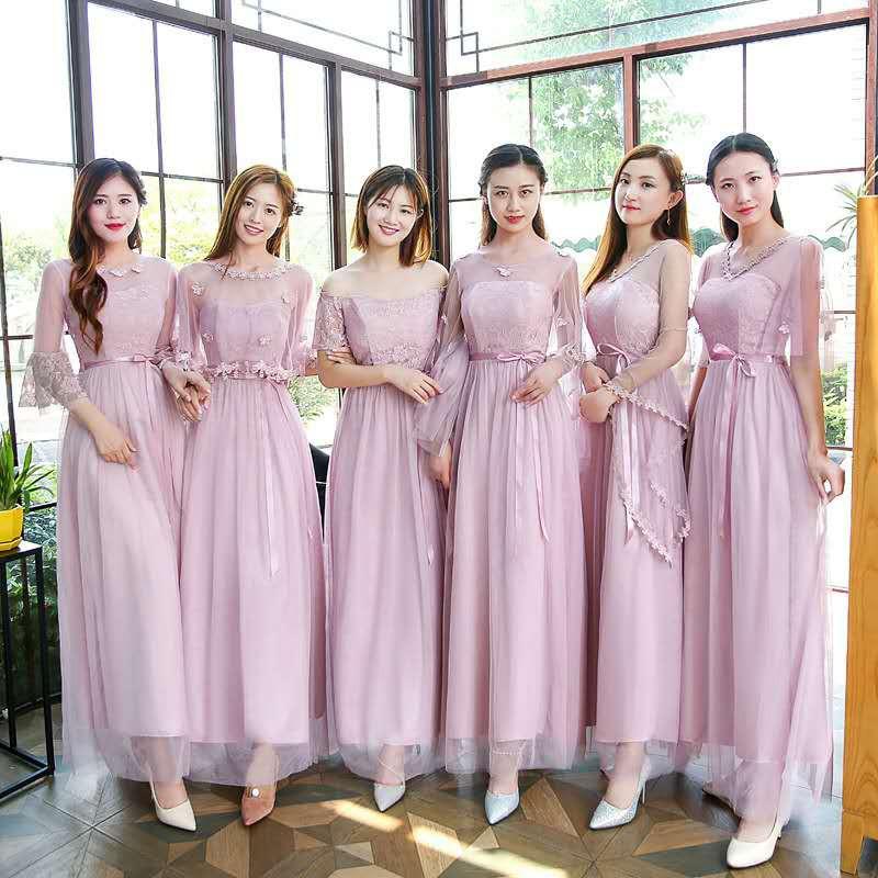Dress Model  Slim untuk  Pengiring Pengantin Shopee Indonesia