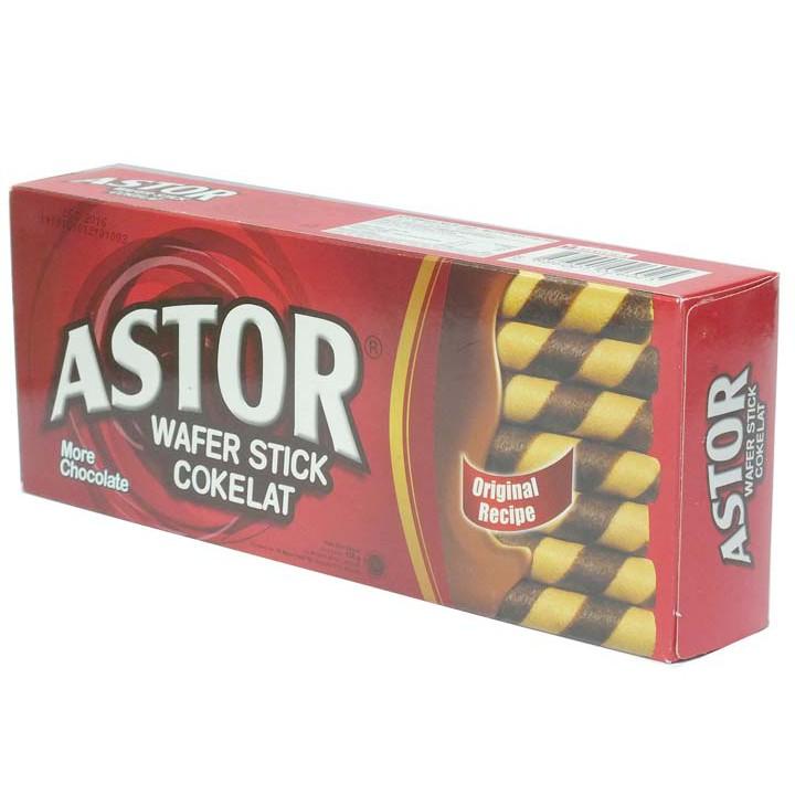 Astor wafer coklat kaleng 330gr / astor kaleng biskuit coklat | Shopee Indonesia