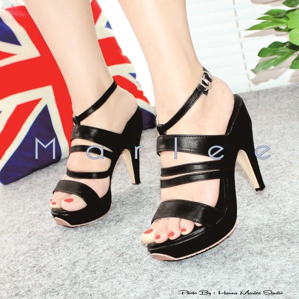 Marlee Angkle Strap Heels Fashion Wanita BD-12