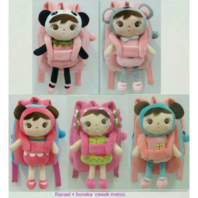 Promo Tas Anak Sekolah Baru Ransel Boneka Hello Kitty Pita Celana Bahan  Halus Lembut - Pink  97d6e0f2dc