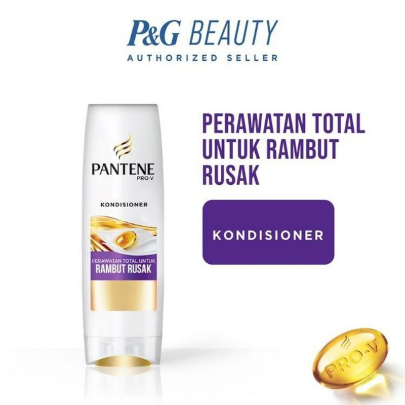 Pantene Shampoo 130ml-Kond Rambut Rusak