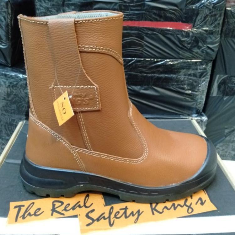 KING'S Sepatu Safety Kings 805 CX Original / Sepatu Septi Kerja Proyek Boots Pria Kulit Asli (KODE 3